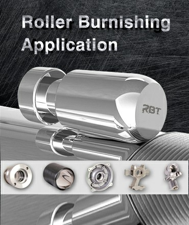 RBTローラーバニシングツールアプリケーション