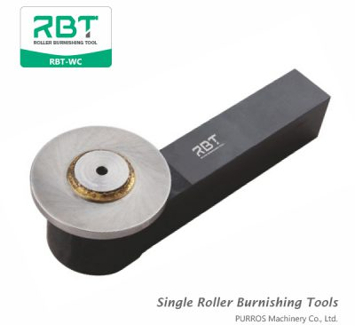 RBT External Groove Single Roller Burnishing Tool