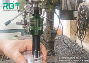Matters needing attention when using roller burnishing tools